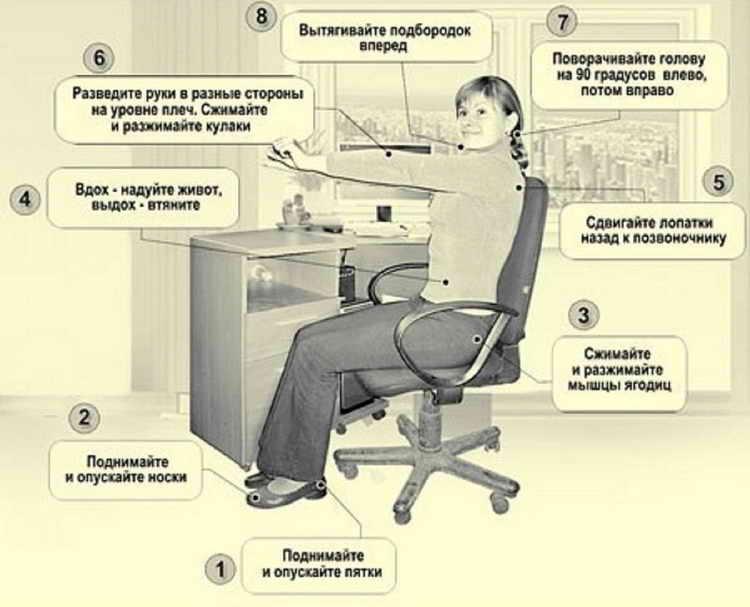 Гимнастика Воробьёва для похудения