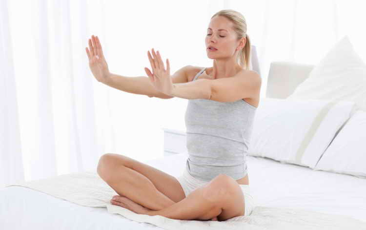 гимнастика для похудения в домашних условиях видео