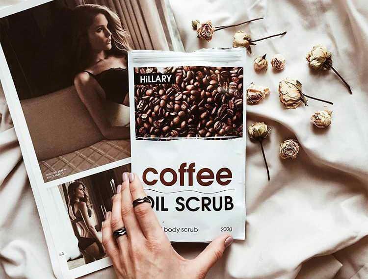 кофейный скраб