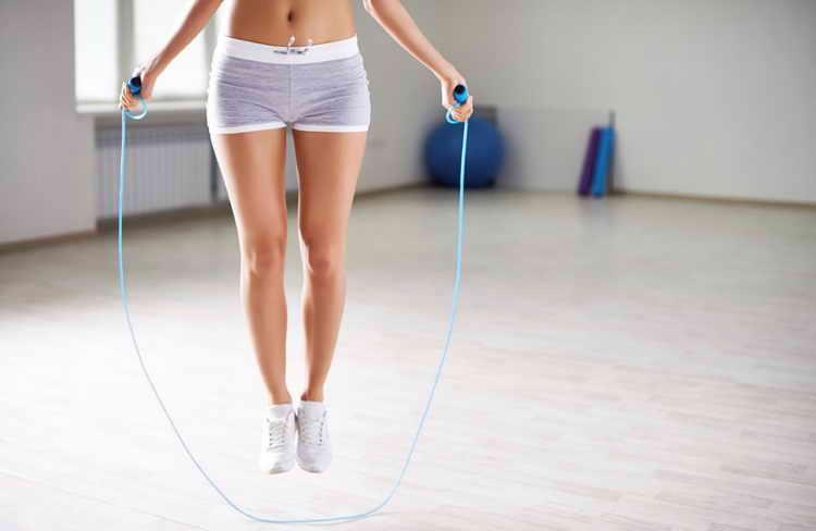 скакалка для похудения как прыгать