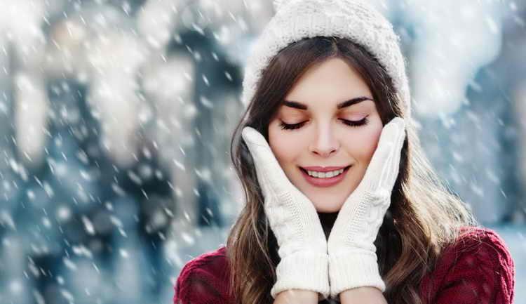 Уход за сухой кожей тела зимой