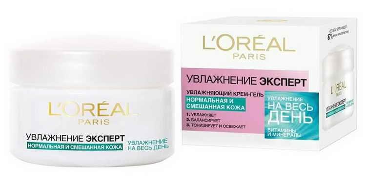 крем «Увлажнение Эксперт», L'Oréal Paris