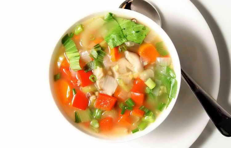 суп из сельдерея для похудения рецепт
