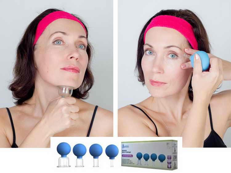 вакуумный массаж техника для лица