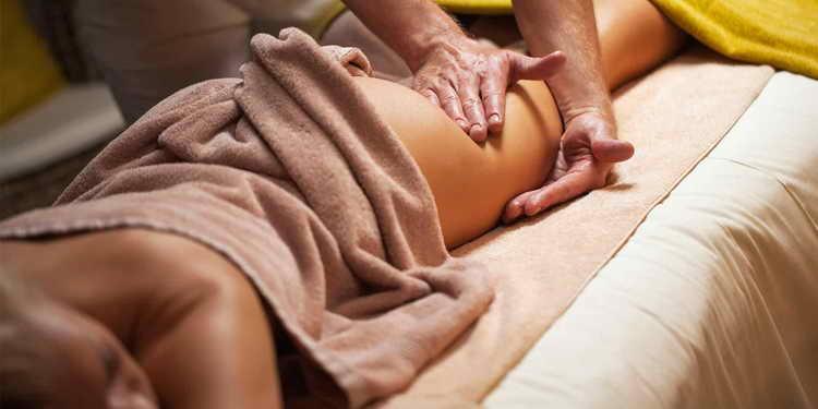антицеллюлитный массаж видео
