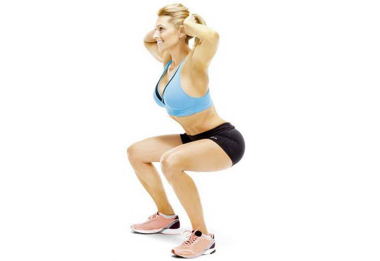 простой комплекс упражнений для похудения дома
