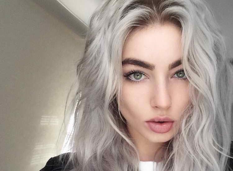 макияж для зеленых глаз для блондинок