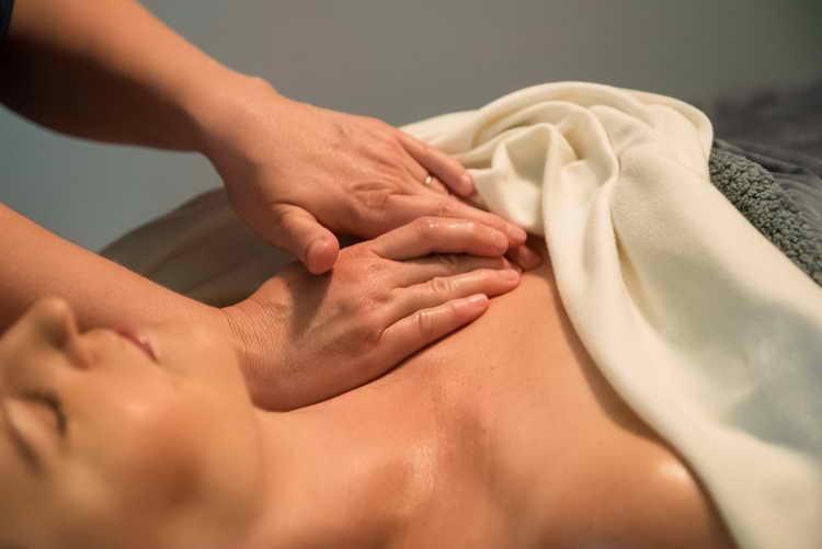 точечный массаж шиацу