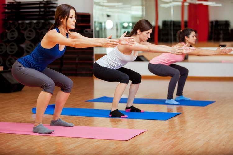 как правильно делать приседания для похудения
