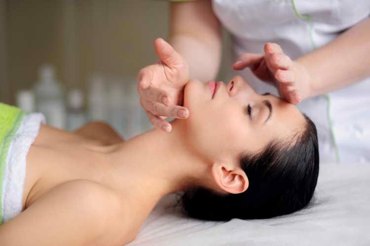 скульптурный массаж лица видео