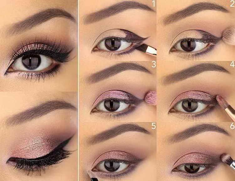 нежный макияж со стрелками